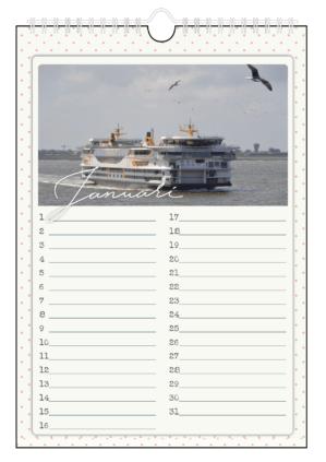 Texel verjaardagskalender